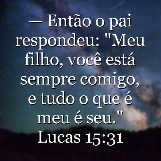 imagem Lucas 15:31